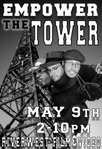 We'll be playing in the 3 to 4pm hour on May 9th at Riverwest Radio